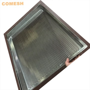 64x45cm Stainless Steel Mesh Metal Perforated Drying Tray
