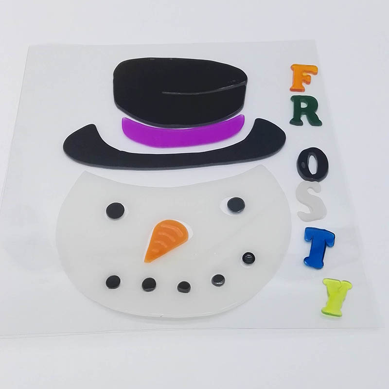 Snowman Window Sticker