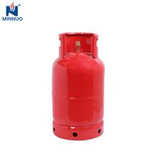El tanque de propano ROJO, cilindro de 12.5kg glp, venta caliente para la cocina casera