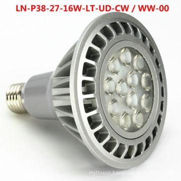 LED spotlights PAR38 E27 E26 Dimmable 16W UL TUV GS CE ROHS certification 3 years warranty