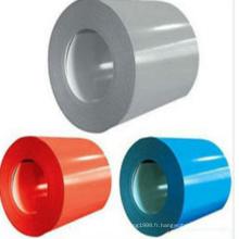 Bobines d'acier galvanisées avec base rouge
