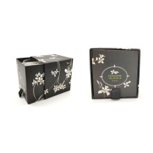 Oem Gift Set Scented Cheap White Candle In Jar Box