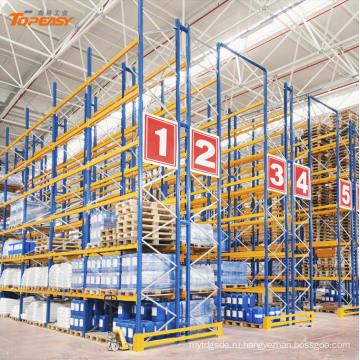Сверхмощное стальное хранение пакгауза селективный шкаф Паллета