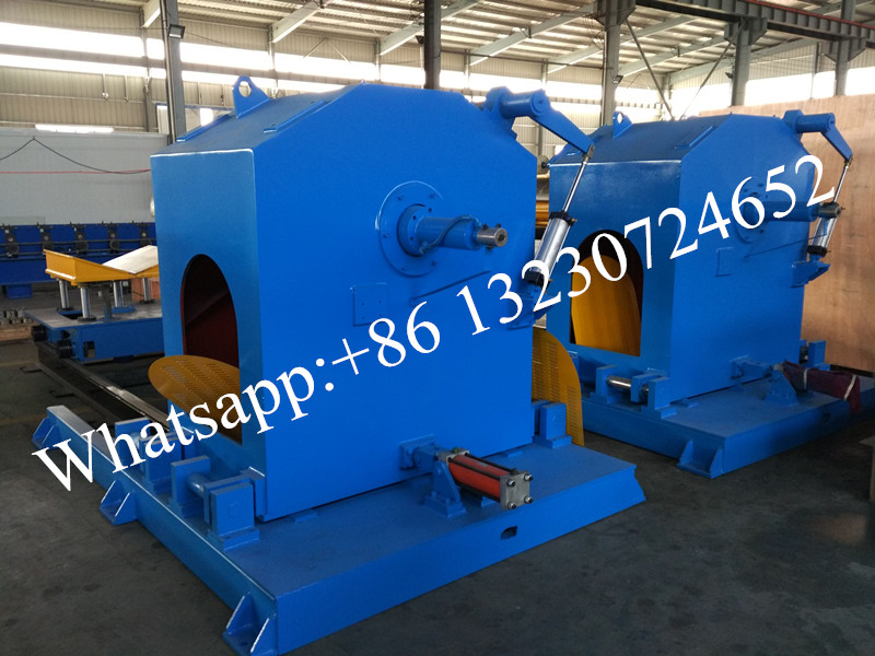 cnc decoiling machine with coil car