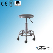 Moveable Stainless Steel Revolving Stool (Y-11)