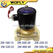 Electroválvula solenoide de válvula normalmente cerrada para gasóleo de agua