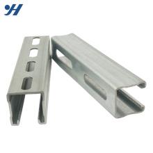 A fábrica direta fornece o canal c galvanizado perfurado, unistrut o preço do canal