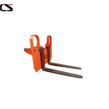 wide leg hydraulic fork hand lift stacker
