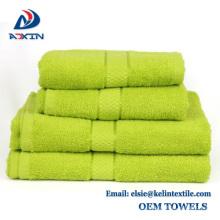 5 Sterne Qualität 100% Baumwolle Indien Badetuch / Baumwolle Handtücher für Hotel und Spa