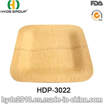 Umweltfreundliche Einweg-Bambus-Vierkantplatte (HDP-3022)