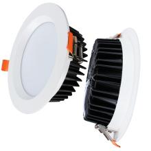 Plafonnier rond en aluminium SMD encastré Led Downlight