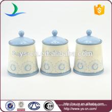 Caixotes de cozinha cerâmica para uso doméstico