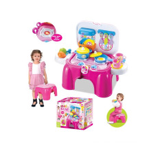 Newest Toy Kitchen Play Set for Kids Sounds and Light Able with En71 Test