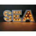 Праздничные декорации LED Light с буквой