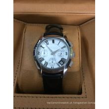 Relógio de aço inoxidável de qualidade