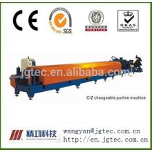JCZ-350 c / z máquina de purlin modificável