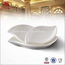 Hotel & Restaurant Geschirr kein Melamin Abendessen Set einzigartige Platte