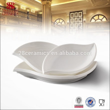 hotel & restaurant tableware no melamine dinner set unique plate