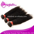 Full cuticle wholesale afro kinky hair weave virgin remy hair extension