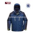 Polyester-Gewebe 3 in 1 Wasser-Beweis-Jacken-Mann-Winter-Jacke mit Haube