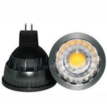Dimmable MR16 5W Epistar COB 500lm quente branco LED spot lâmpada