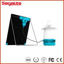 Puede ser ajustable para el sol de alta calidad LED linterna solar