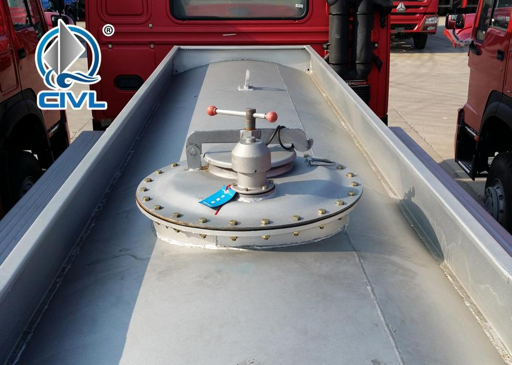 6x6 Fuel Tanker Truck 3