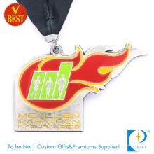 China OEM Customized Special Design Metal Enamel Marathon Medal at Factory Price