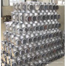 Бесшовный тройник стальных труб высокого давления A335 P5 цинковый охладитель