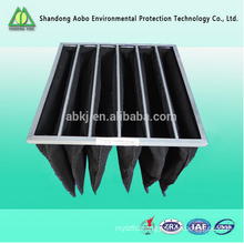 pocket bag type compressed micro pleated air filter