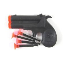 Arma de brinquedo plástico crianças agulha arma com 4 balas (10221706)
