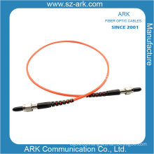 SMA-SMA Simplex Om1 Orange Fiber Optic Jumper