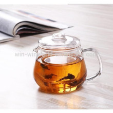 Manufacturer Wholesale Glass Teapot With Glass Infuser