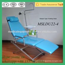 MSLDU22-4M Sample Folding Dental Stuhl convinent zahnärztliche Ausrüstung