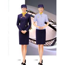 Damenarbeitskleidung mit langen und kurzen Ärmeln