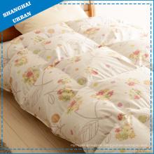 Bettwäsche aus 100% Baumwolle mit Gänsedaunen und Federdecke