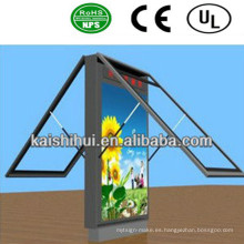 Caja de luz de desplazamiento LED de alta calidad / cartelera de señal