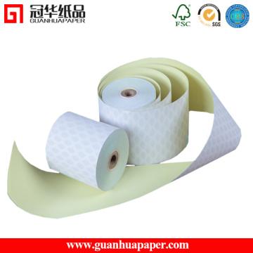 SGS 2 Ply 76mm * 70mm Carbonless Cash Register Papierrolle