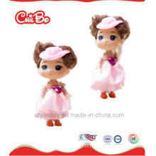 Lovely Children High Quality Toy Pink Plastic Dolls, Pretty