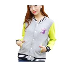 Womens Custom Cute Trendy Embroidery Design Varsity Jackets