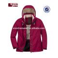 Parka al por mayor lavado mujeres chaqueta de invierno acolchada