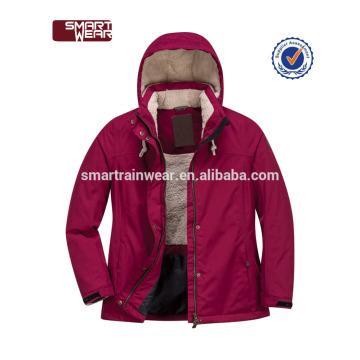 Großhandel Parka gewaschene Jacke Frauen gepolsterte Winterjacke