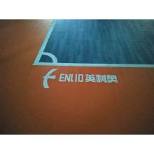 Plancher de cour intérieure en PVC futsal