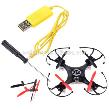 Factory 2.4G nano remote control rc quadcopter drone