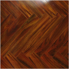 Commercial 12mm Mirror Maple Sound Absorbing Laminate Floor