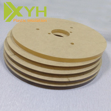 Material termoplástico de cristal hoja acrílica pmma