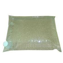 Bolsa de huevo líquido en caja / babero plano / bolsa de líquido en caja