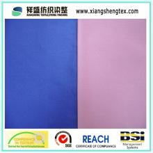 Tecido de seda tingido de algodão e sarja de ambos os lados