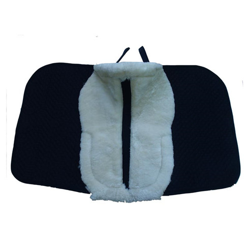 sheepskin saddle horse pad
