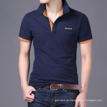 Art und Weise der neuen Art-Fabrik-Großverkauf-unbelegten Männer Polo-T-Shirts